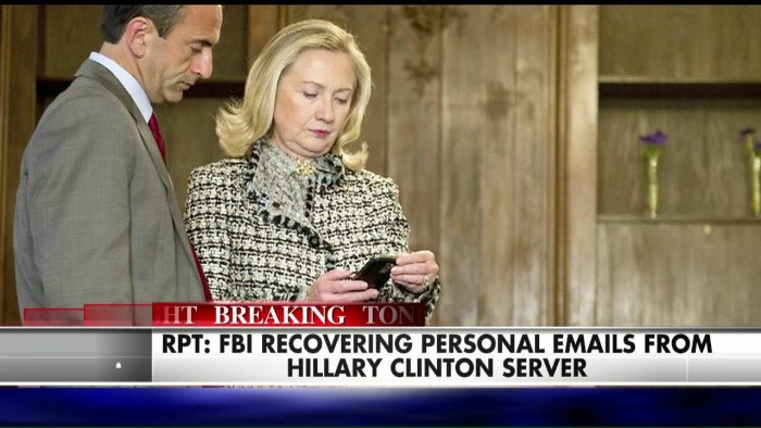 State Dept. Ordered To Review 15,000 Deleted Clinton Emails (Video)