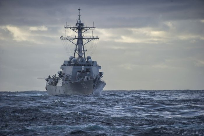 U.S. Navy Coastal Patrol Ship Fired Three Warning Shots (Video)