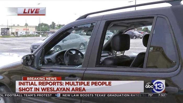 Multiple People Shot Near Houston Shopping Center (Video)