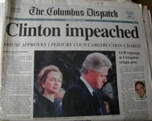 clinton-impeached