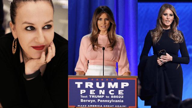 Fashion Maven Urges Fellow Designers To Refuse To 'Dress' Melania Trump