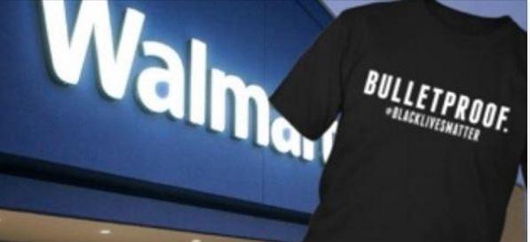 Walmart Selling Black Lives Matter Shirts With 'Bulletproof' On Them