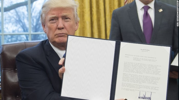 DHS Vows To Enforce Donald Trump's Executive Order