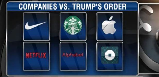 Major Companies Speak Out Against Trump's Exec. Order On Immigration (Video)
