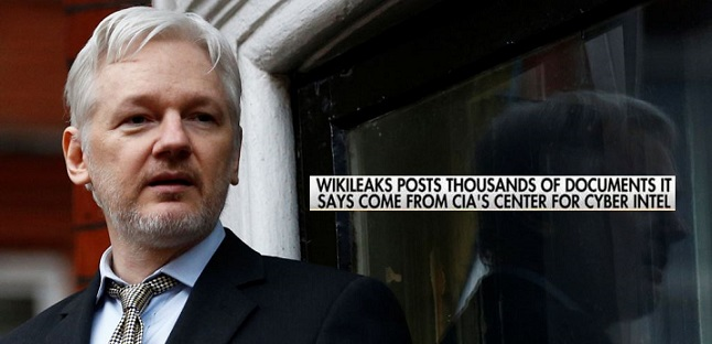 WikiLeaks Releases 'Entire Hacking Capacity Of The CIA'(Video)