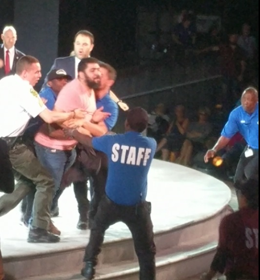 """SECOND PROTESTER STORMS STAGE At NYC Trump Assassination Play! """"Goebbels Would Be Proud! (Video)"""
