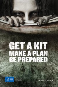 CDC Zombie Preparedness Poster