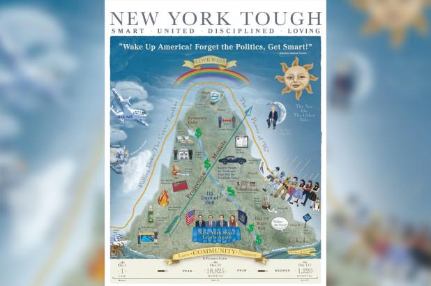 New York Tough Poster