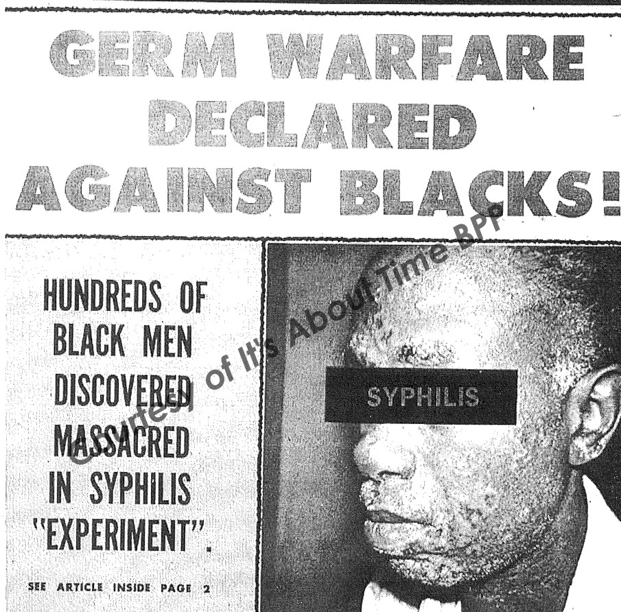 Tuskegee-Syphilus-Experiment