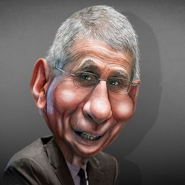 Anthony Fauci Caricature