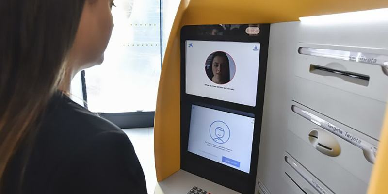 Facial recognition at ATM