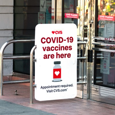 CVS advertising COVID-19 vaccine