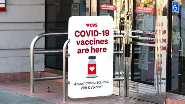 CVS advertising COVID-19 vaccine