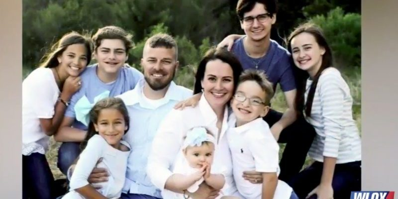 Brad Malagarie and family