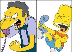 bart-simpson-and-moe-on-the-phone