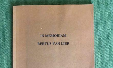 In memoriam Bertus van Lier