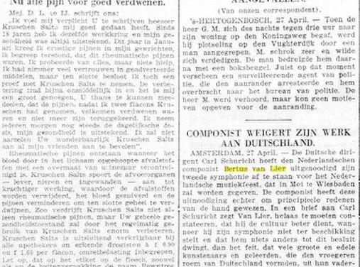 De Telegraaf van 28 april 1936