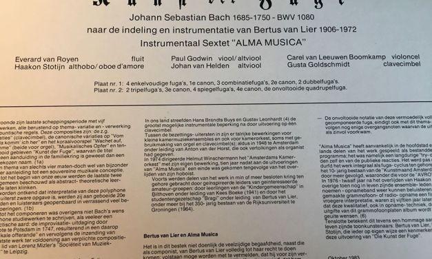 Bach's Kunst der Fuge