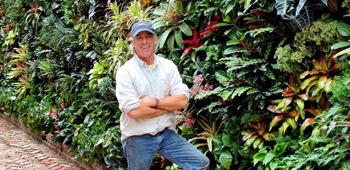 Biophilic Designer | Jeffrey Allis | Miami Florida | biophillia principles best green wall in Miami / Best Vertical garden in miami
