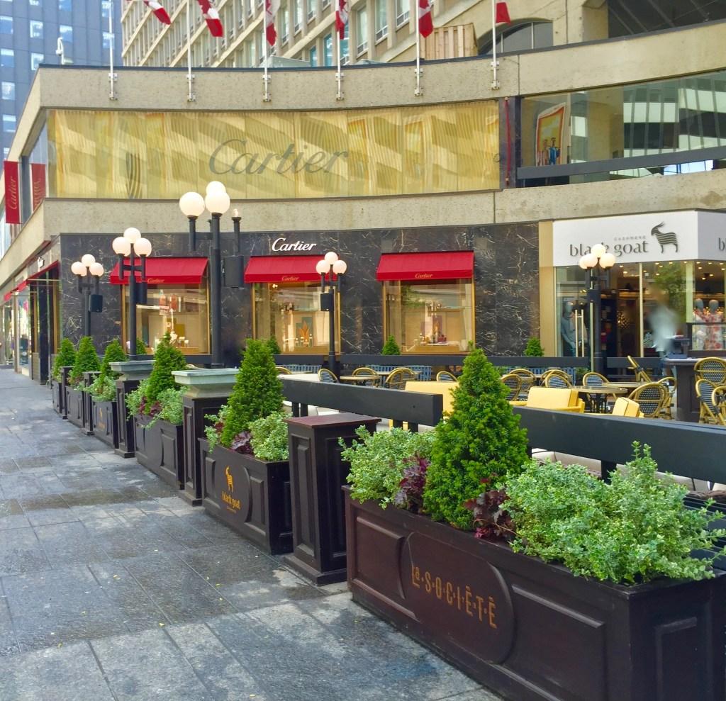 Biophillia Principles in urban down town Toronto Canada By biophilic designer Jeffrey Allis For Ink entertainment