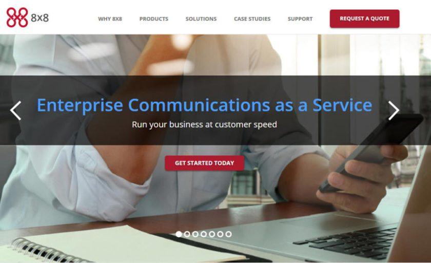 8x8 Services2 Business Class Voice Service