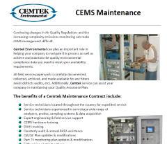 Cemtek Literature on Maintenance