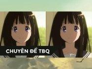 TV vs BLU-RAY: [Kem Đá] | (Hyouka) (Phần 1)