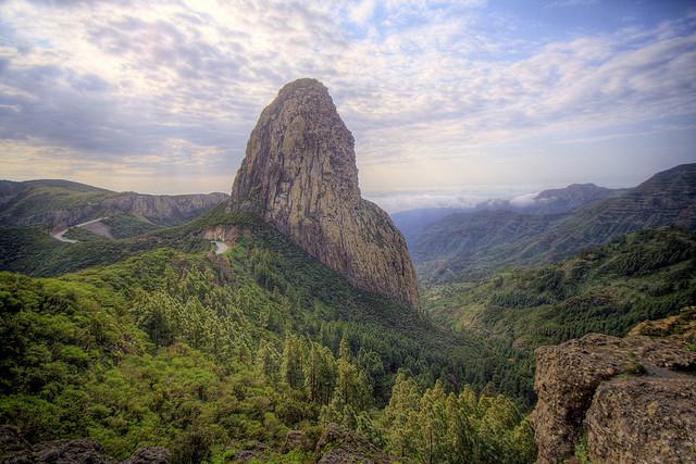 La Gomera, Islas Canarias, Garajonay.
