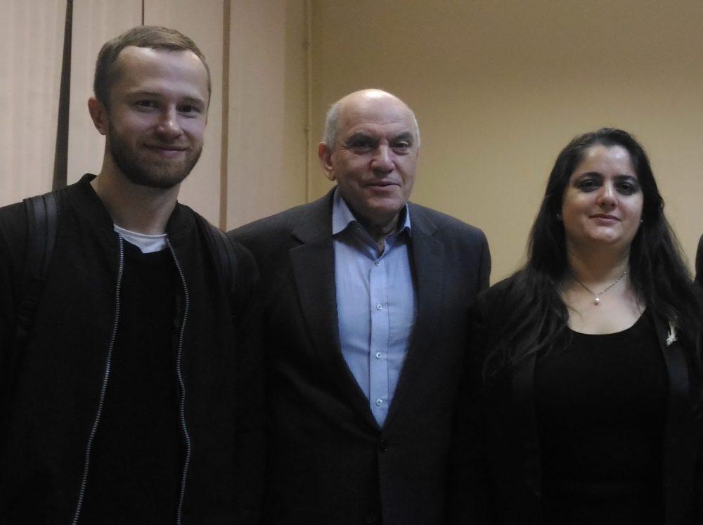 Владимир Магун с коллегами Максимом Рудневым и Маргаритой Фабрикант