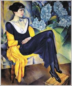 Портрет Анны Ахматовой работы Натана Альтмана