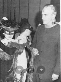 Фриц Лейбер в костюме Лорда Паука (Lord Spider), 1962 год
