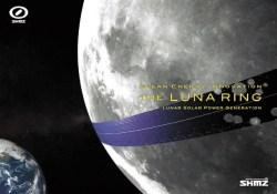 "«Лунное кольцо» — КСЭС через экватор Луны, предложенная японской компанией The Shimizu Corporation. Cхема The Shimizu Corporation, <a href=""http://www.shimz.co.jp/english/theme/dream/lunaring.html"">www.shimz.co.jp/english/theme/dream/lunaring.html</a>"