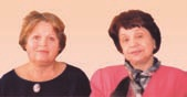 Дубовенко Вера Александровна, зав. Отделением ГПНТБ СО РАН (слева), и Павлова Лия Павловна, к.п.н., зав. лабораторией развития электронных ресурсов ГПНТБ СО РАН (справа)