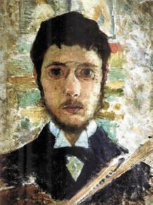 Пьер Боннар. Автопортрет (около 1889)