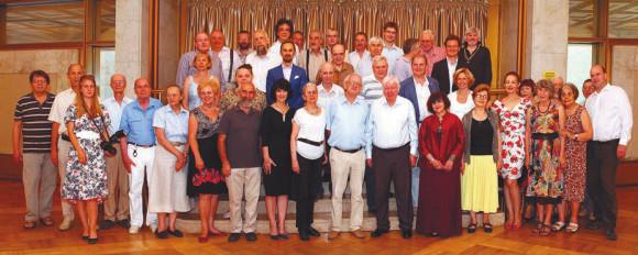 11 августа в Президиуме РАН состоялся юбилейный вечер, на котором присутствовали родные, друзья и члены клуба «1 июля» и комиссии по общественному контролю за реформой науки (фотографии М. Олендской)