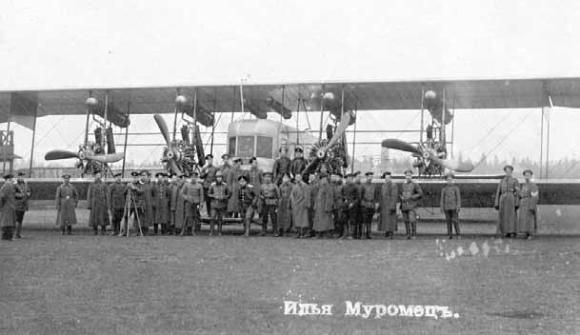 Самолет «Илья Муромец». 1913 год