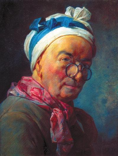 Автопортрет. 1780. Пастель