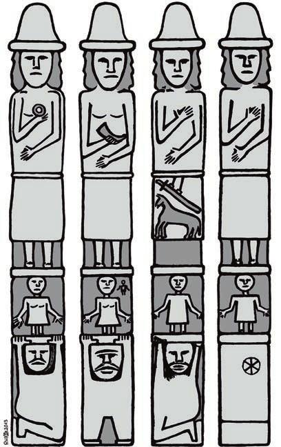 Збручский идол — каменный идол, найденный в реке Збруч (приток Днестра) в 1848 году, четырехгранный столб высотой 2,67 м, высеченный из серого известняка. Его считали славянским идолом Х века, хотя были мнения, что это по типу не русский памятник, а сейчас у археологов появились обоснованные подозрения, что это изделие романтиков начала XIX века. Хранится в Краковском археологическом музее