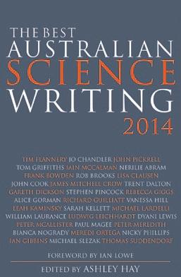 Обложка книги The Best Australian Science Writing 2014