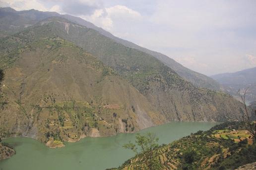 Река Чинаб, приток Инда. Фото В.В. Скворцова