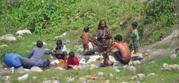Группа кочевников. 1 июня 2015 года