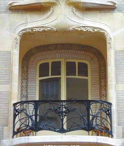 Балкон и кованая решетка