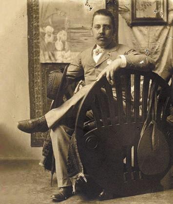 Йозеф Хоффман.  Фото, сделанное в доме Мозера