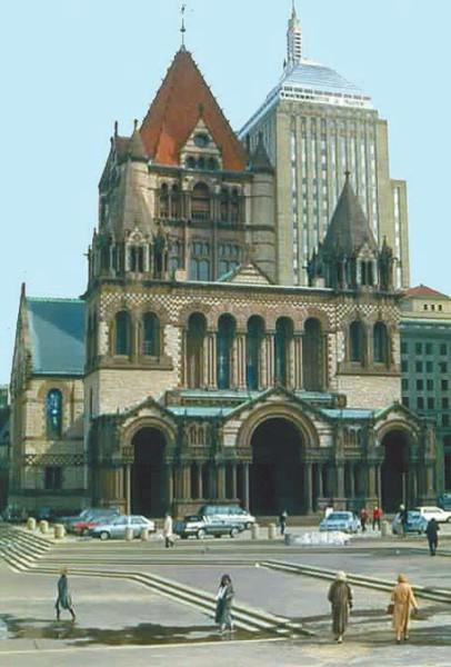 Фото 3. Собор Святой Троицы в Бостоне