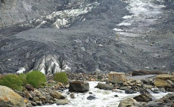 Ледник Паркачик. 30 июня