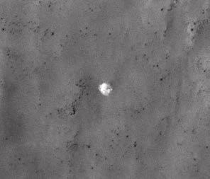 Парашют «Марса-3». Фото MRO NASA