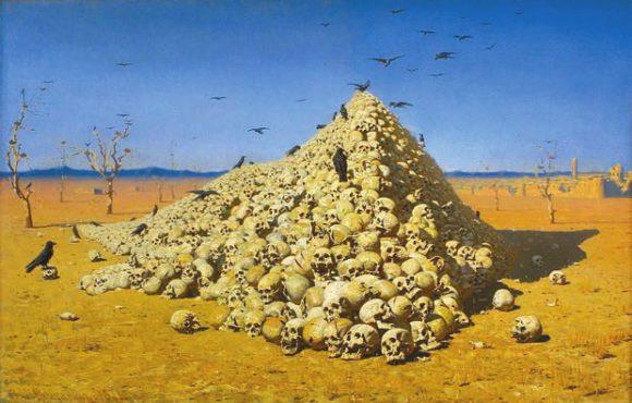 Апофеоз войны. В. Верещагин (1871)