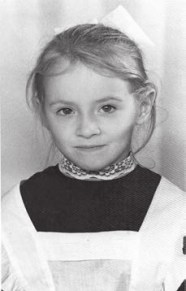 Будущий научный журналист Наталия Демина. 1-й класс