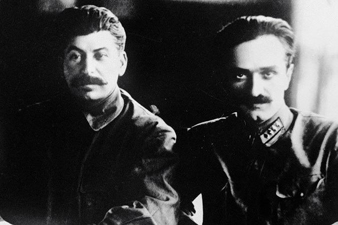 Иосиф Сталин и Анастас Микоян