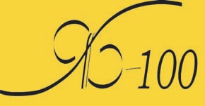 Рис.1. Значок ЯБ-100. Был изготовлен к конференции «ЯБ-100», посвященной 100-летию со дня рождения Я.Б. Зельдовича, проходившей в ГАИШ МГУ 20-21 марта 2014 года